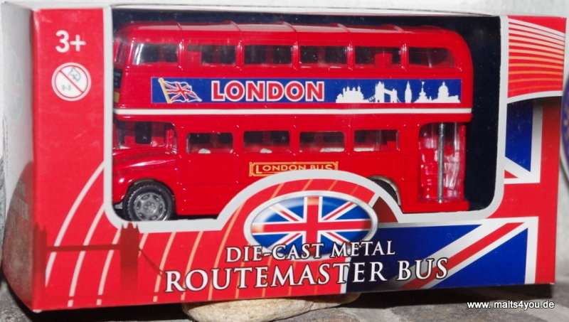 london bus large free wheel whisky g nstig kaufen bei. Black Bedroom Furniture Sets. Home Design Ideas